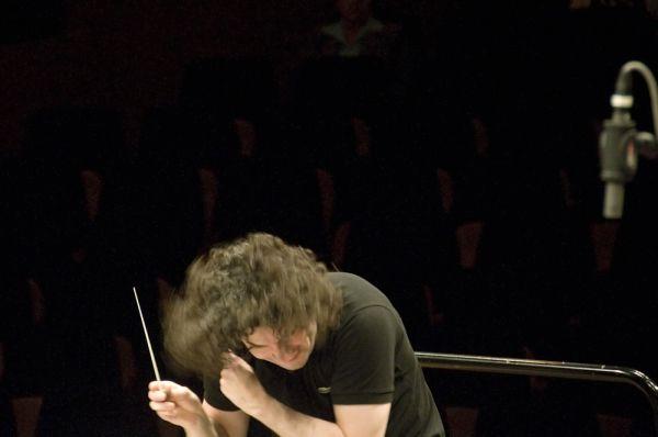 Gustavo Dudamel - KKL Concert rehearsal 2010
